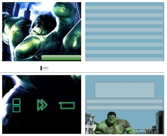 Thumbnail 1 for Hulk theme
